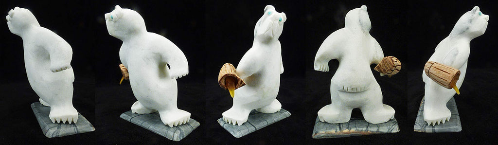 Marble Bear by Vaughn Kaskalla