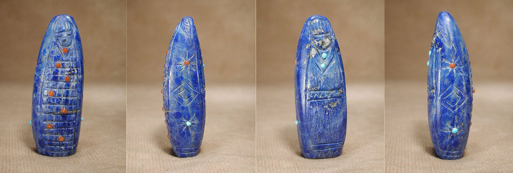 Lapis Lazuli Maiden by Rhoda Quam, Deceased