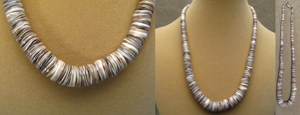 Shell Necklace by Lita Atencio
