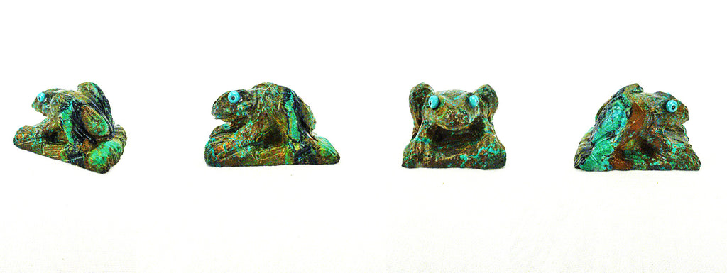 Turquoise* Frog by Eric Martinez