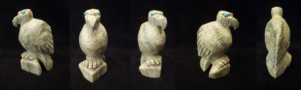 Picasso Marble Bird, Eagle by Dana Malani
