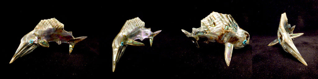 Abalone Fish, Sailfish by Philbert Beyuka