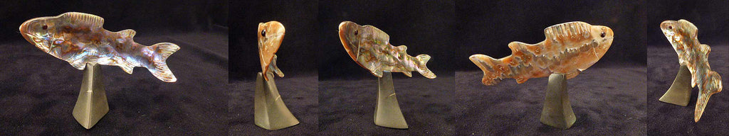 Abalone Fish, Trout by Orin Eriacho