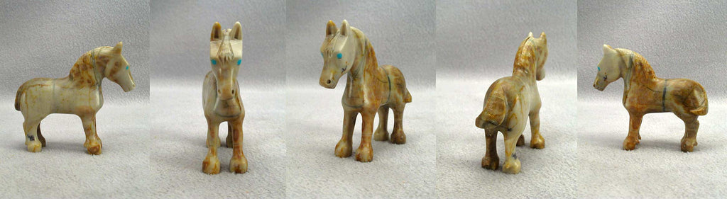 Picasso Marble Horse by Chris Cellicion