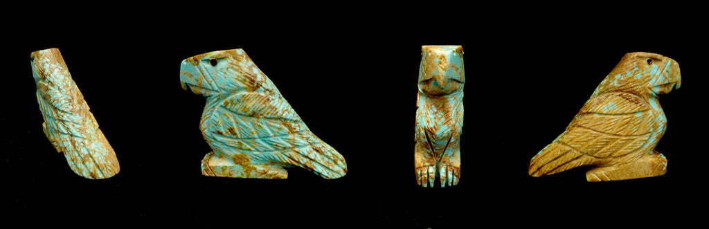 Number Eight Mine Turquoise Bird, Eagle by Michael Laweka