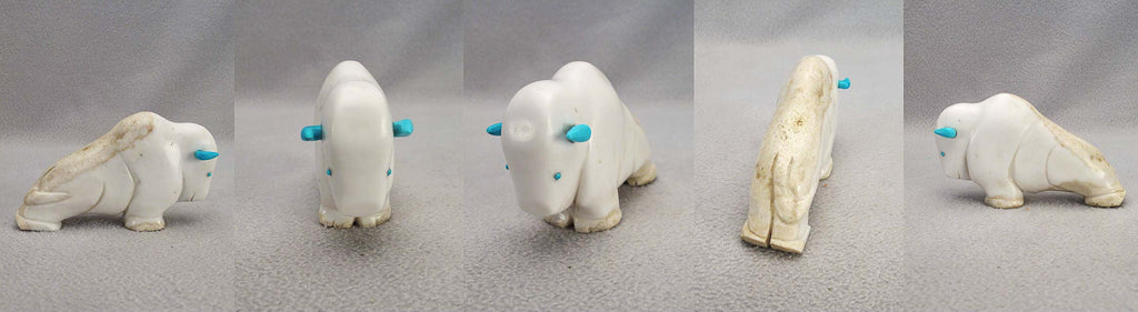 Marble Buffalo by Ron Laahty