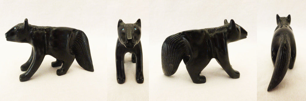 Black Marble Horse by Brion Hattie