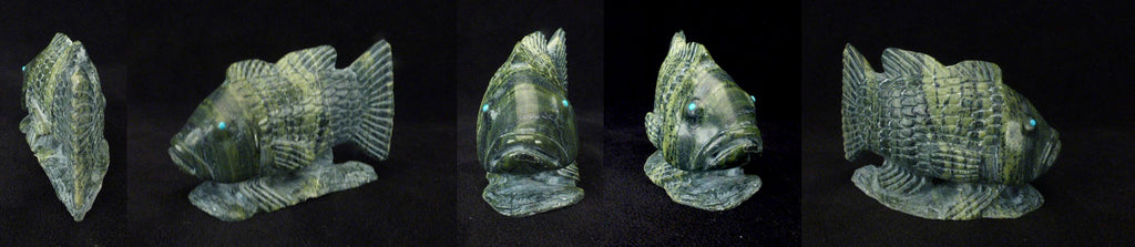 Ricolite Fish, Bass by Derrick Kaamasee