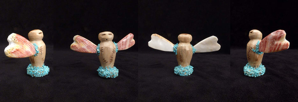Cottonwood / Spiny Oyster / Turquoise* Butterfly Maiden by Joshua Leki