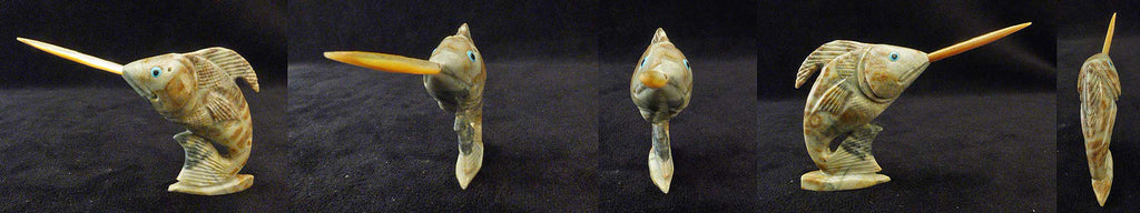 Picasso Marble Fish, Sword Fish by Hudson Sandy