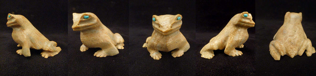 Picasso Marble Bull Frog by Dana Malani