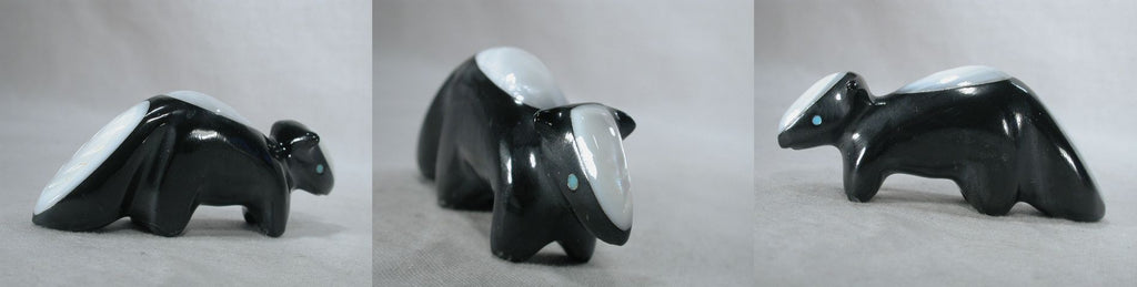 Black Marble Skunk by Calvert Bowannie
