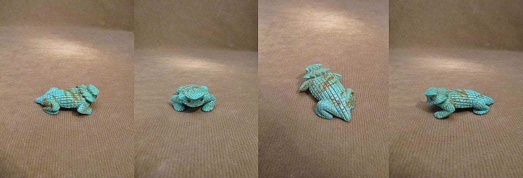 Turquoise* Horned Toad by Fabian Cheama