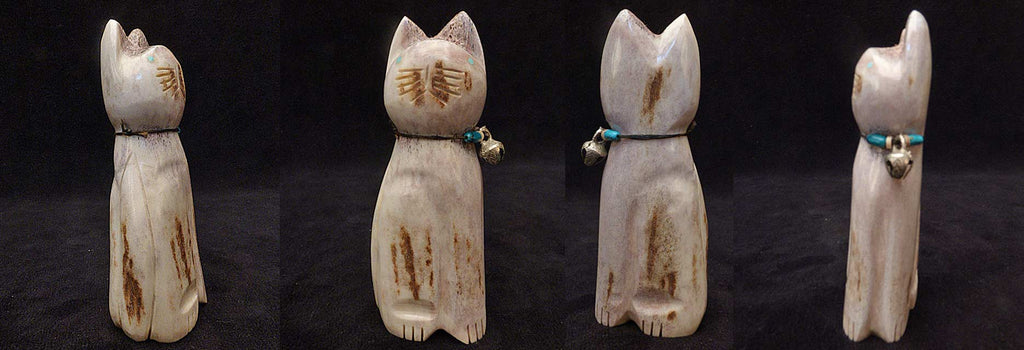 Antler Cat by Robert Michael Weahkee