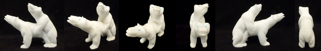 Marble Bear, Double by Herbert Him