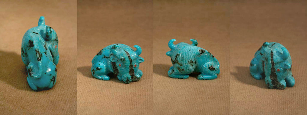 Turquoise* Buffalo by Fabian Cheama