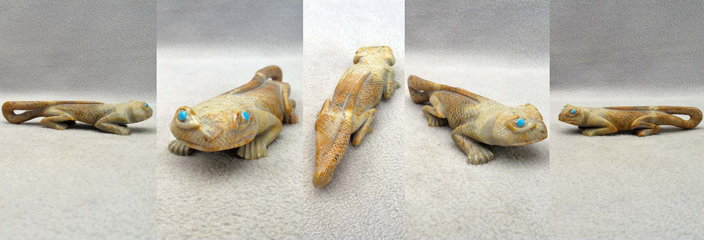 Picasso Marble Gecko  by Hudson Sandy