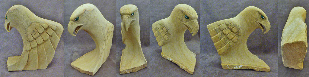 Sandstone Bird, Eagle by Orin Eriacho