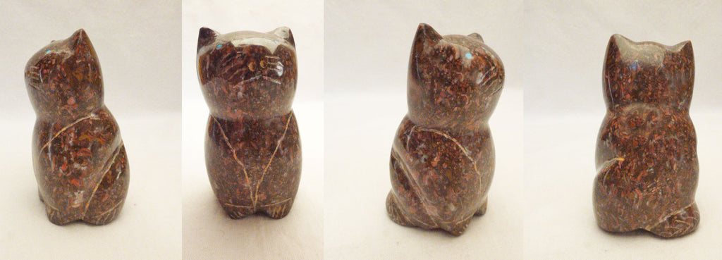 Marble Cat by Leland Boone and Daphne Quam
