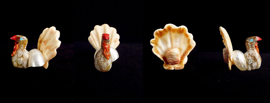 Shell Multi Stone Bird, Turkey by Sullivan Shebola, Jr.