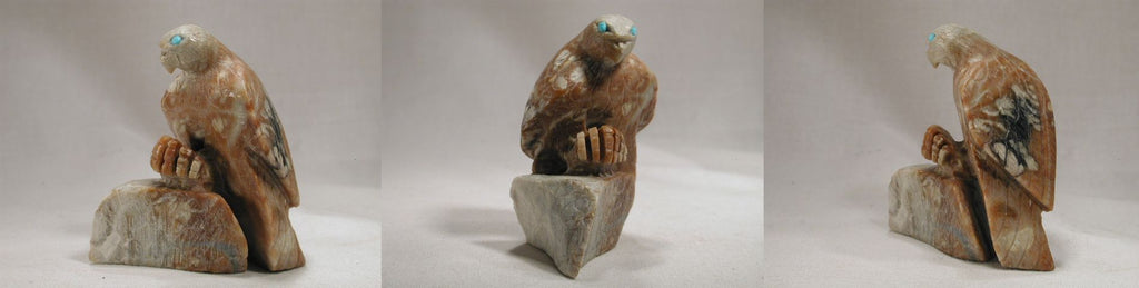 Picasso Marble Bird, Hawk by Dana Malani