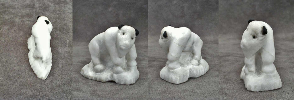 Alabaster Buffalo by Fenton Luna