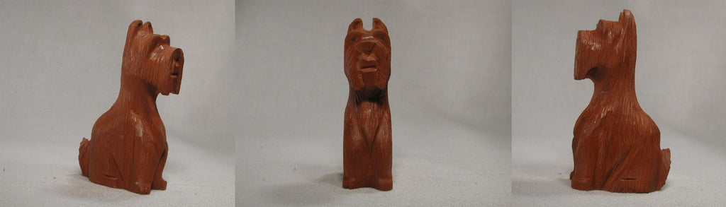 Pipestone Dog, Scottie by Kenny Chavez