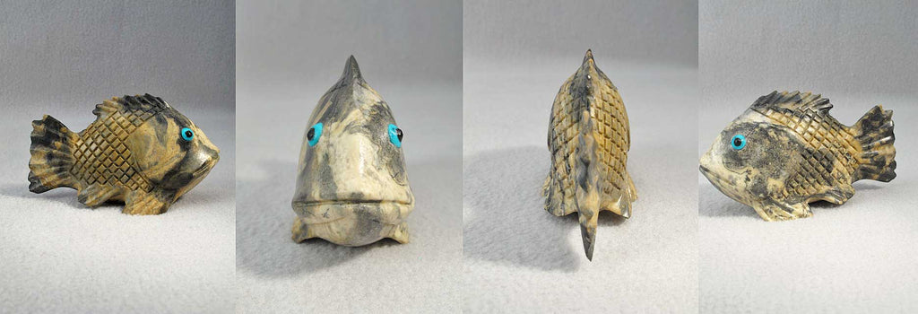 Picasso Marble Fish, Bass by Glen Lasiloo