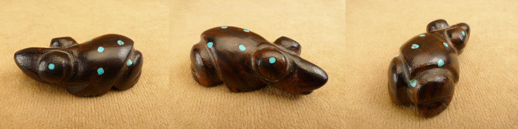 Ironwood Frog  by Debra Gasper and Ray Tsethlikai