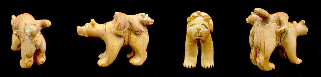 Picture Jasper Bear with Cub by Hiram Peynetsa