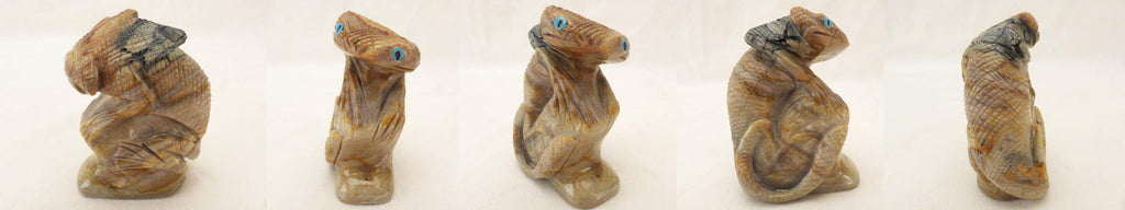 Picasso Marble Lizard, Gecko by Hudson Sandy