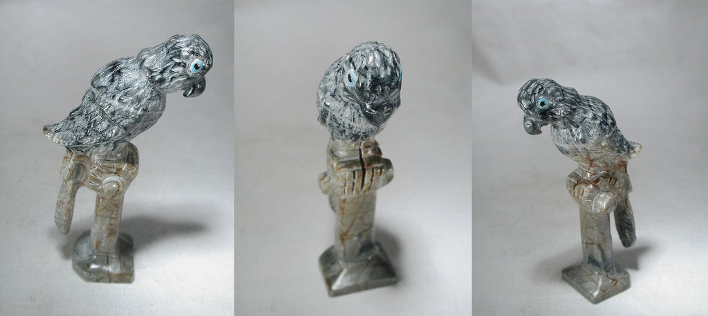 Picasso Marble Parrot by Floyd Tekala