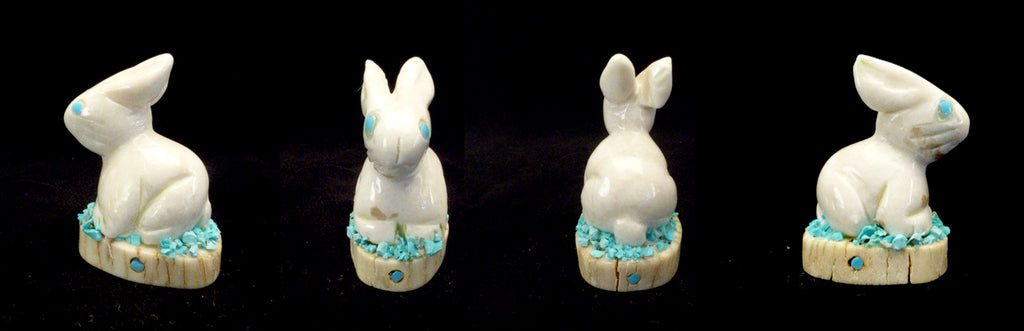 Alabaster Rabbit by Stafford Chimoni
