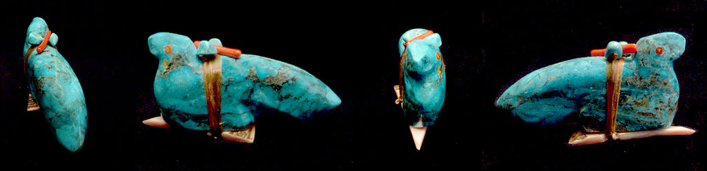 Turquoise* Bird, Eagle by Evalena Boone