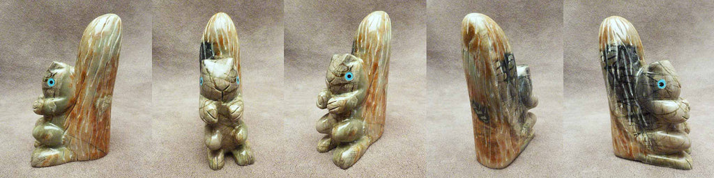 Picasso Marble Squirrel by Danny Booqua