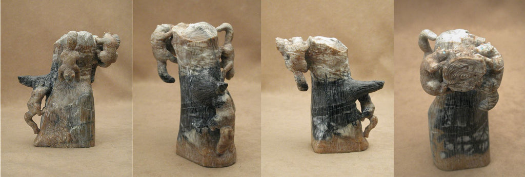 Picasso Marble Squirrels by Jeff Shetima