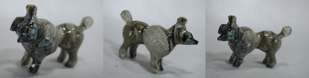 Picasso Marble Dog, Poodle by Bremette Epaloose - Deceased
