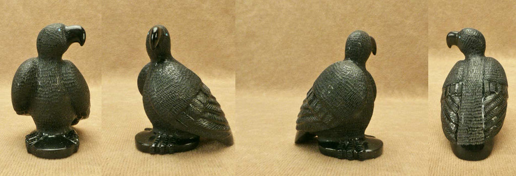 Black Marble Bird, Eagle by Brion Hattie