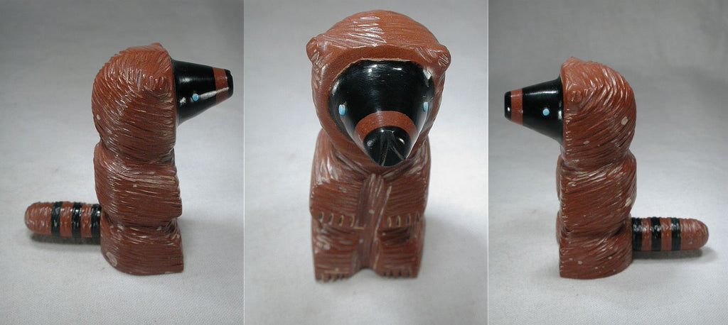 Pipestone Raccoon by Susie Lementino