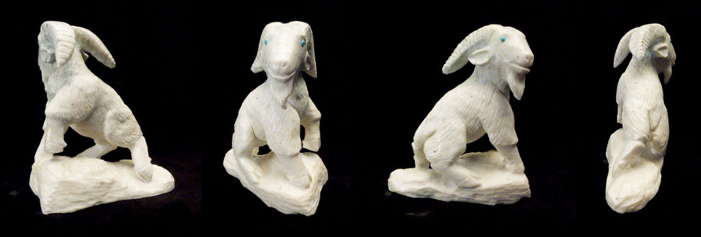 Marble Mountain Goat by Derrick Kaamasee