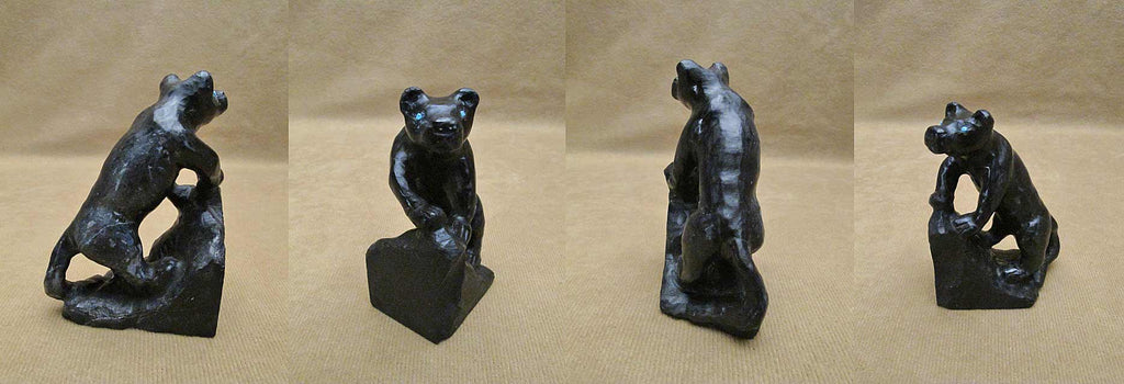 Black Marble Panther by Fenton Luna