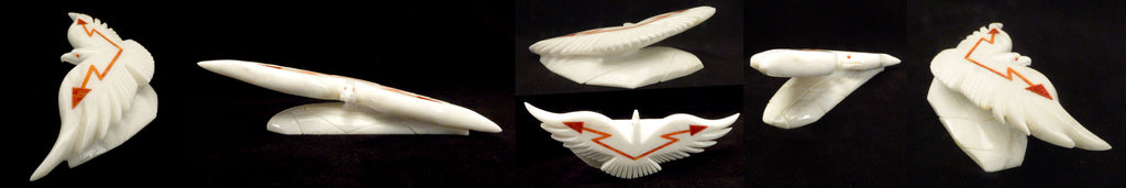 Marble Bird, Eagle by Hiram Peynetsa