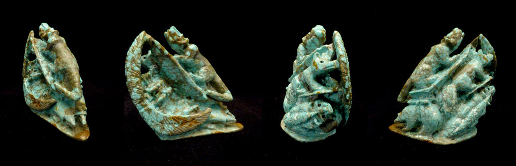 Turquoise* Six-Directional Figure by Eric Martinez