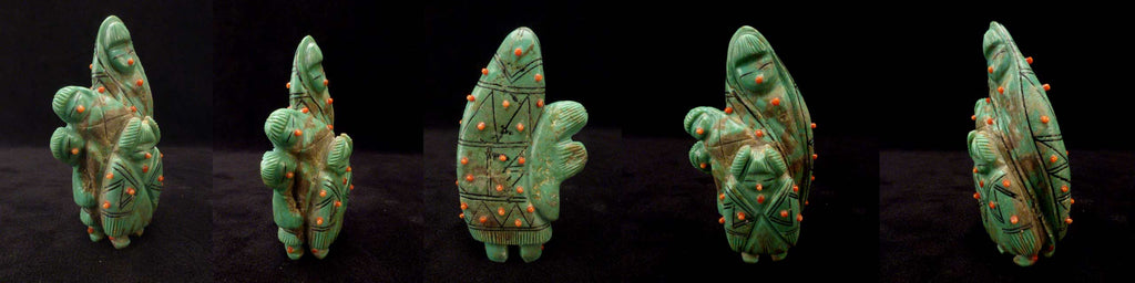 Turquoise* Maiden Figural by Claudia Peina