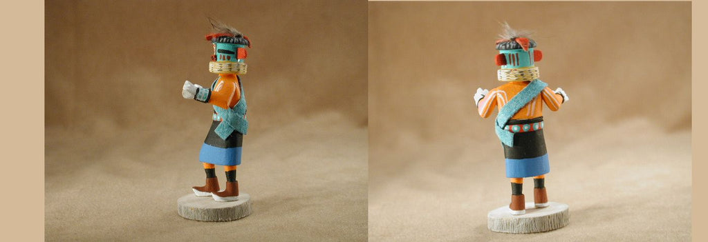 Miniature Kachina by Ravon Chavez