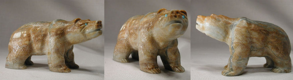 Picasso Marble Bear, Large by Herbert Him