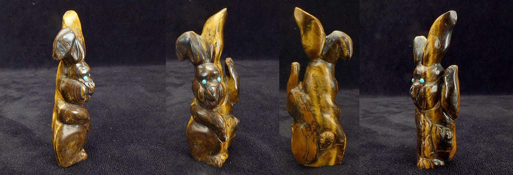 Tiger Eye Rabbit by Ron Laahty