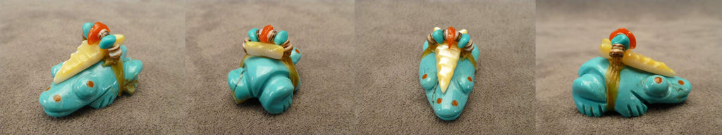 Turquoise* Frog  by Dinah Gasper