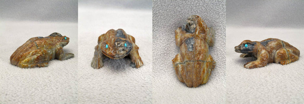 Picasso Marble Frog by Herbert Him
