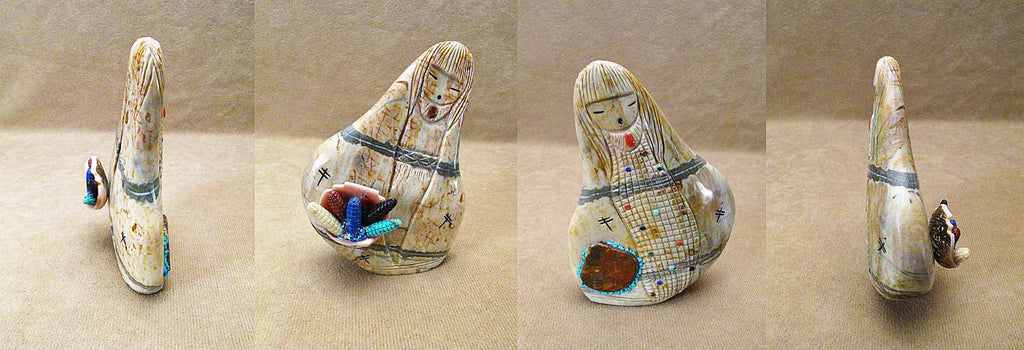 Picasso Marble Maiden by Sandra Quandelacy